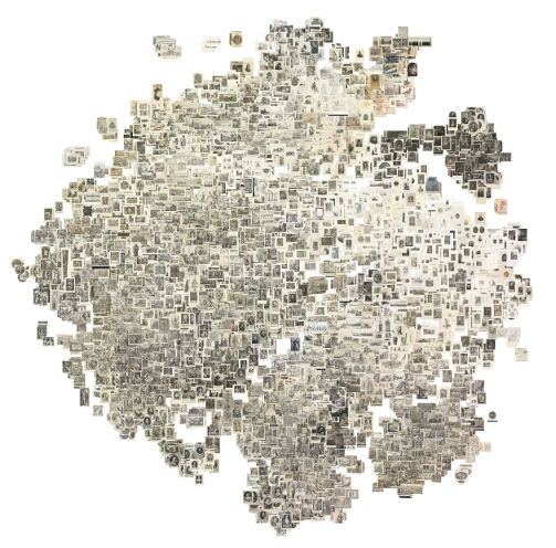 t-SNE plot of all images in the test set, click for high resolution version